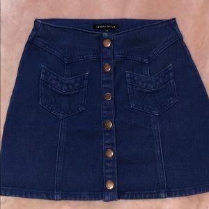 Kendall & Kylie denim skirt!